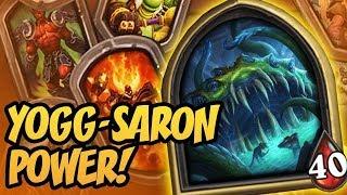 Yogg-Saron Power!   Saviors of Uldum   Hearthstone