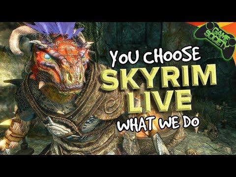 Skyrim - You Choose What We Do (E14) - Game Society