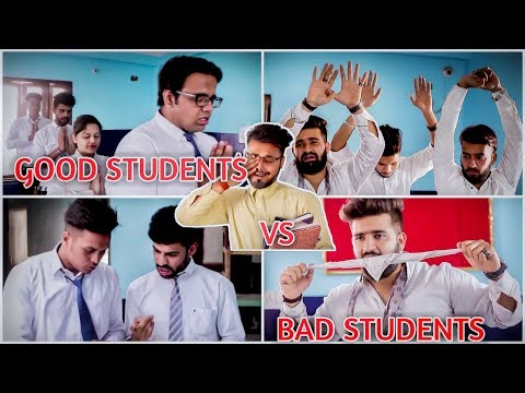 Good Students VS. Bad Students In A Class | School Life | ROB's