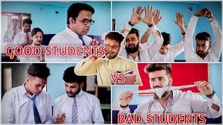 Good Students VS. Bad Students In A Class - School Life Hindi | Students Vs. Teacher ROB's