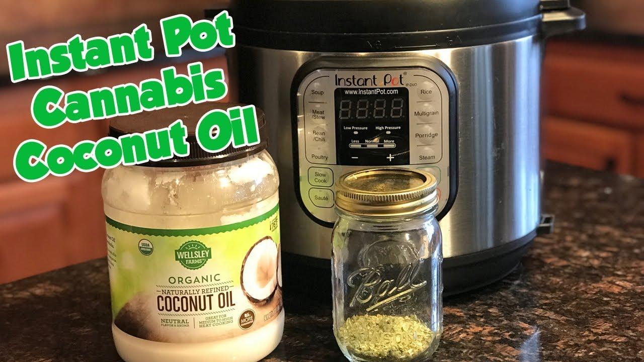 Instant Pot Cannabis Coconut Oil