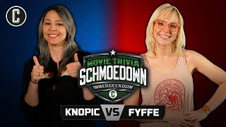 Innergeekdom Tournament! Mara Knopic VS Emma Fyffe - Movie Trivia Schmoedown