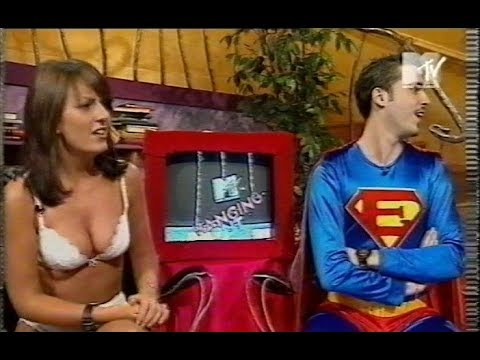 Superhero with X-ray vision gets an eyeful of Davina McCall
