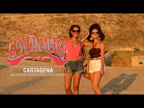 Noite em Cartagena, na Colômbia - #plataoplomotrip #1