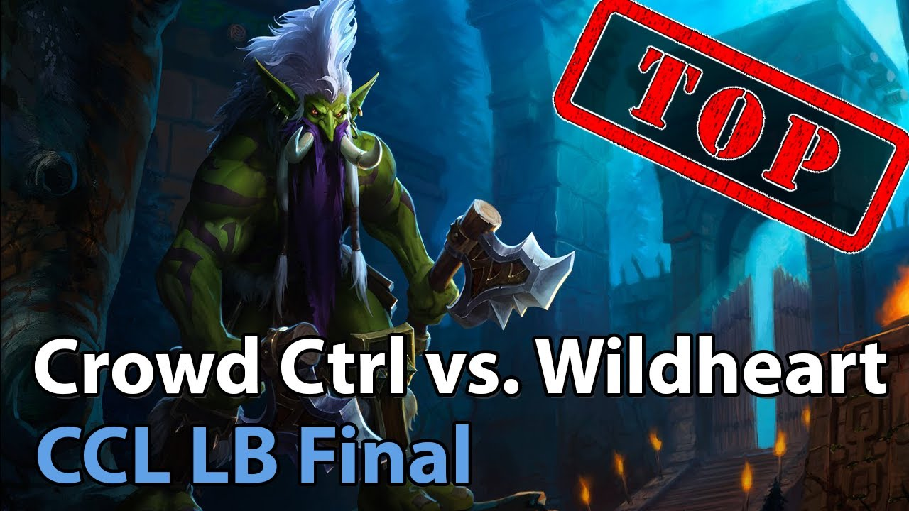 CCL: Wildheart vs. Crowd Control - Heroes of the Storm 2021