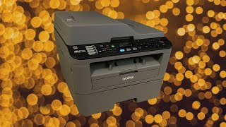 Brother MFC-L2700DW Laser Printer Review!!