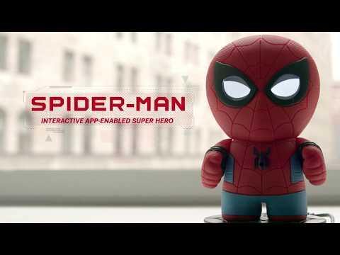 Sphero   Spider Man Interactive App Enabled Super Hero Trailer