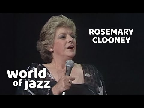 Rosemary Clooney, First Concert, North Sea Jazz • 10-07-1981 • World of Jazz mp3