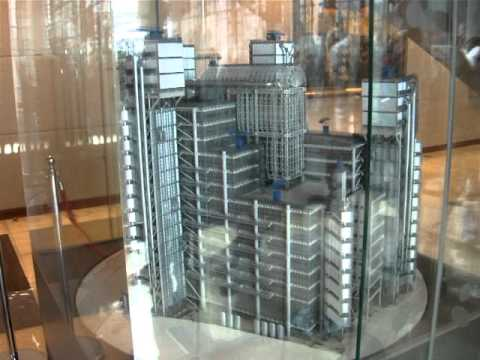 Lloyds Building scale model