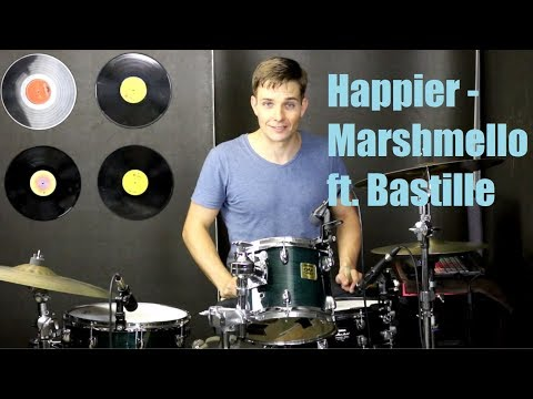 Happier Drum Tutorial - Marshmello ft. Bastille