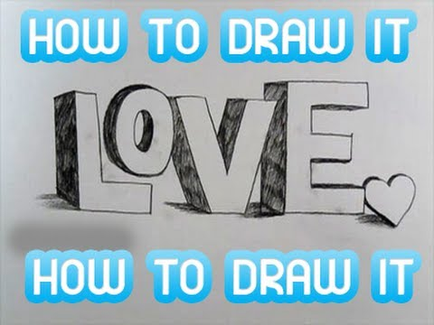 how to draw 3d letters how to draw 3d graffiti letters 22278 | hqdefault