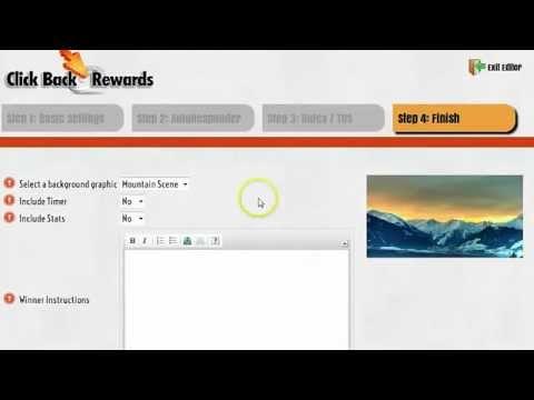 clickbackrewardsdemo|click back Rewards|Brett Rutecky