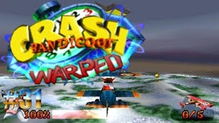 Bombardeo de aviones/Crash Bandicoot: Warped #31