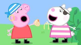 Halloween mit Peppa: Piraten! 🎃 Cartoons für Kinder 🎃 Peppa Wutz Neue Folgen
