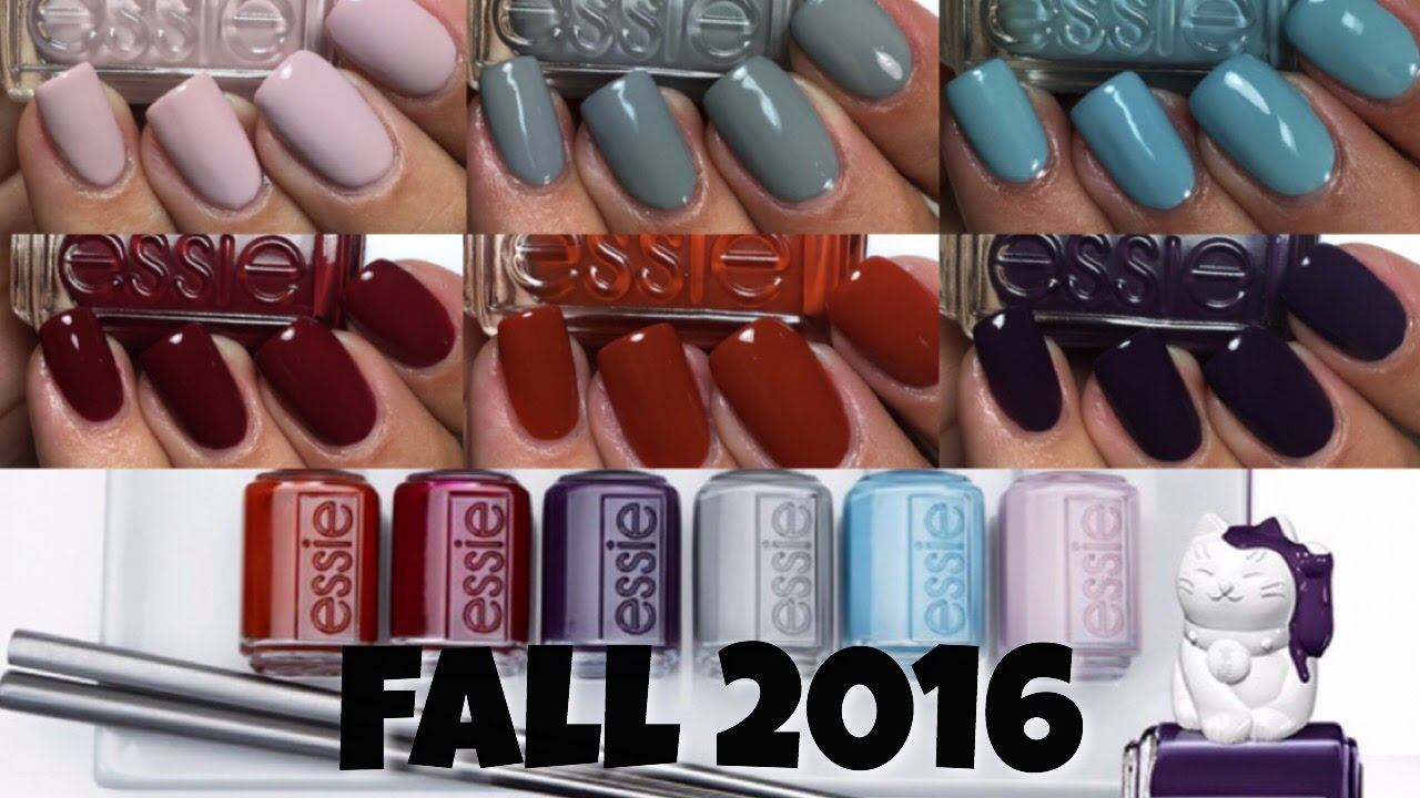 essie Fall 2016 Collection | The Polished Pursuit - YouTube