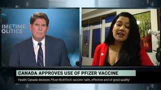Health Canada gives green light to the Pfizer/BioNTech vaccine