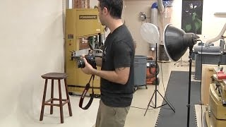 Photographing Your Woodworking Projects