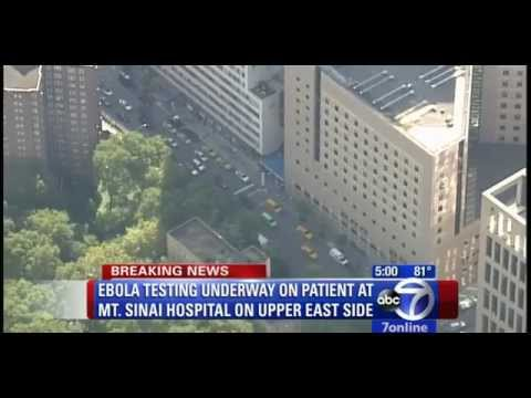 BREAKING: NYC HOSPITAL TESTS MAN FOR EBOLA VIRUS