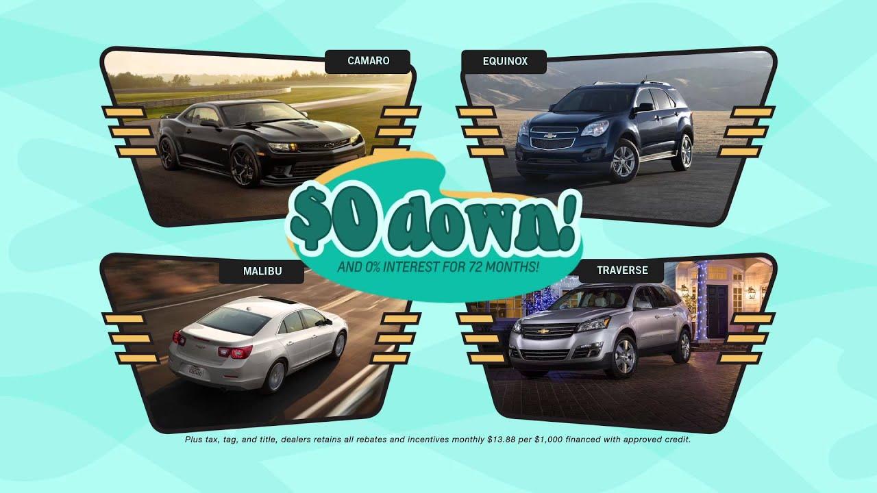Summer Lovinu0027 Sales Event At Dan Vaden Chevrolet And Cadillac