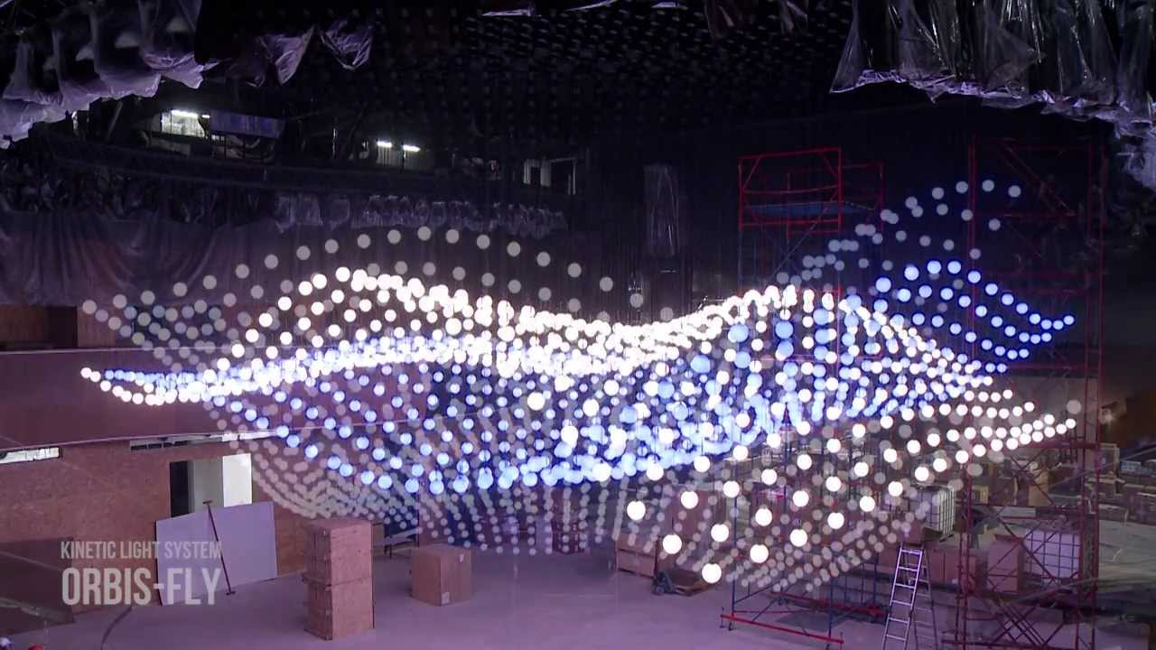 Kinetic Lighting System Kinetic Fly Светодиодная