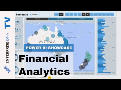Financial Analytics - Power BI Showcase