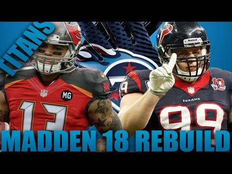 Rebuilding The Tennessee Titans! | Madden 18 Franchise! Part 2 Best Defense Ever!?