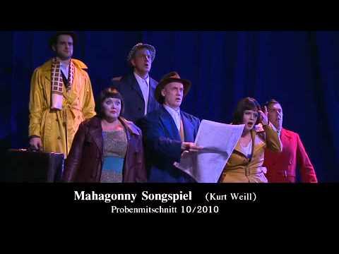 MAHAGONNY SONGSPIEL von Bert Brecht/Kurt Weill