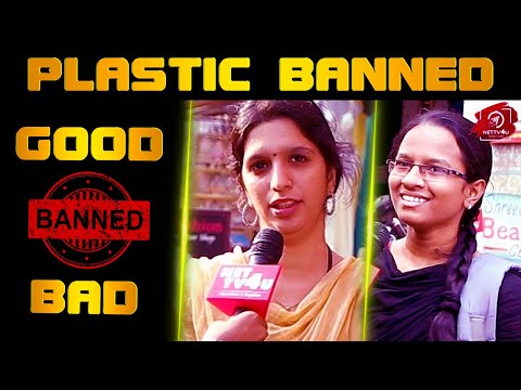Public Opinion On Plastic Banned