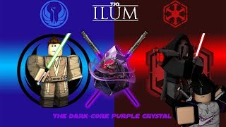 "[ROBLOX] TJO Ilum:""Dark-core purple crystal location and how to get it"" FASTEST WAY, REAL CRYSTAL"