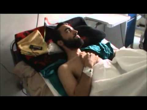 Ospedale di Damasco (8) Civile Siriano Ferito da Terroristi Salafiti - ARAB/ITALIANO