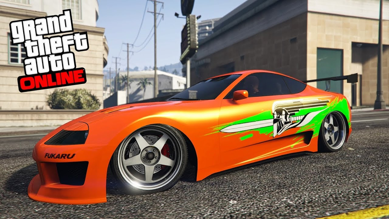 GTA 5 - JESTER CLASSIC Customization! (Fast & Furious ...