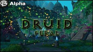 Feral Druid Artifact Quest and Class Hall - Legion Alpha