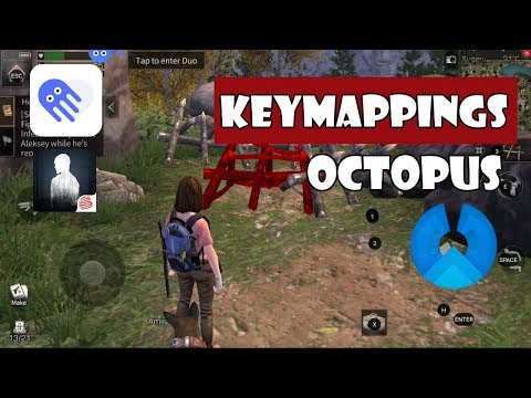 Phoenix OS | LifeAfter English Android Keymappings With Octopus App