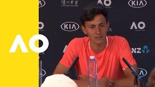 Emilio Nava press conference (F) | Australian Open 2019