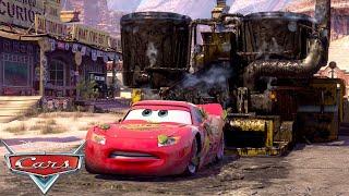 Lightning Meets Bessie | Pixar Cars