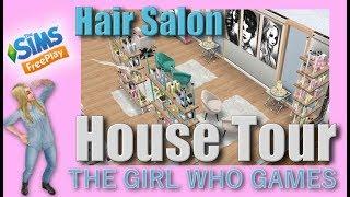 The Sims Freeplay- Hair Salon Tour