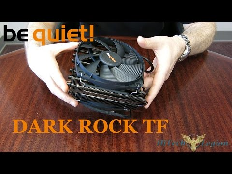 be quiet! Dark Rock TF CPU Cooler Overview, Benchmarks and Installation