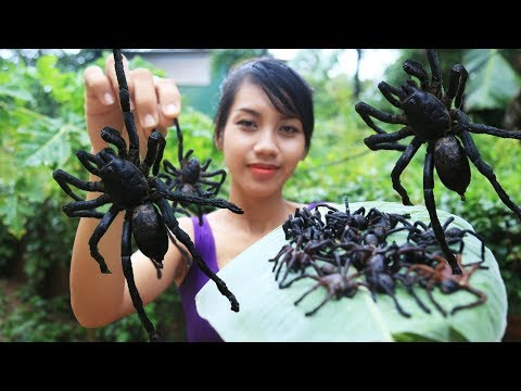 Yummy cooking spiders recipe - Cooking skill