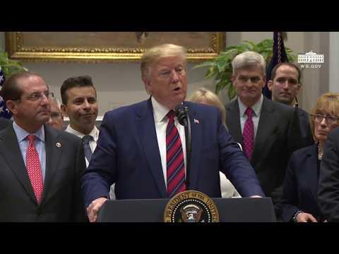 President Trump Delivers Remarks on Ending Surprise Medical Billing