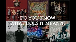 Guess the Panic! at the Disco Song quite possibly for Crankthatfrank **UNBEARABLY HARD**