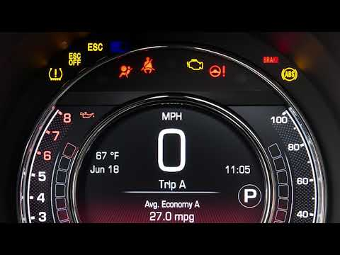 Instrument Cluster Display | How To | 2019 Fiat 500/500c