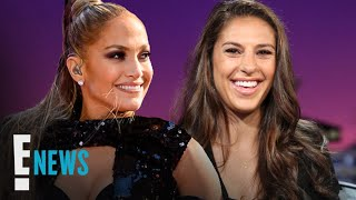 J.Lo Gives Carli Lloyd Sexy Lap Dance to Celebrate World Cup Win | E! News