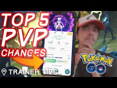 TOP 5 CHANGES YOU NEED TO KNOW  in Pokémon GO PvP Battle Update!