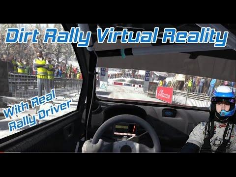 DiRT Rally Virtual Reality Real Rally Driver - Monte Carlo - Fiesta WRC