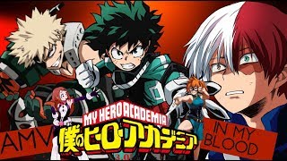 My Hero Academia ★AMV★ In My Blood
