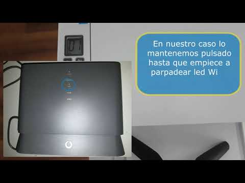 Cómo conectar una impresora HP Laserjet  Pro m28w a la red Wi-Fi por WPS