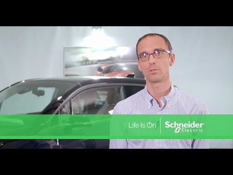 BMW et Schneider Electric, en partenariat sur le véhicule électrique