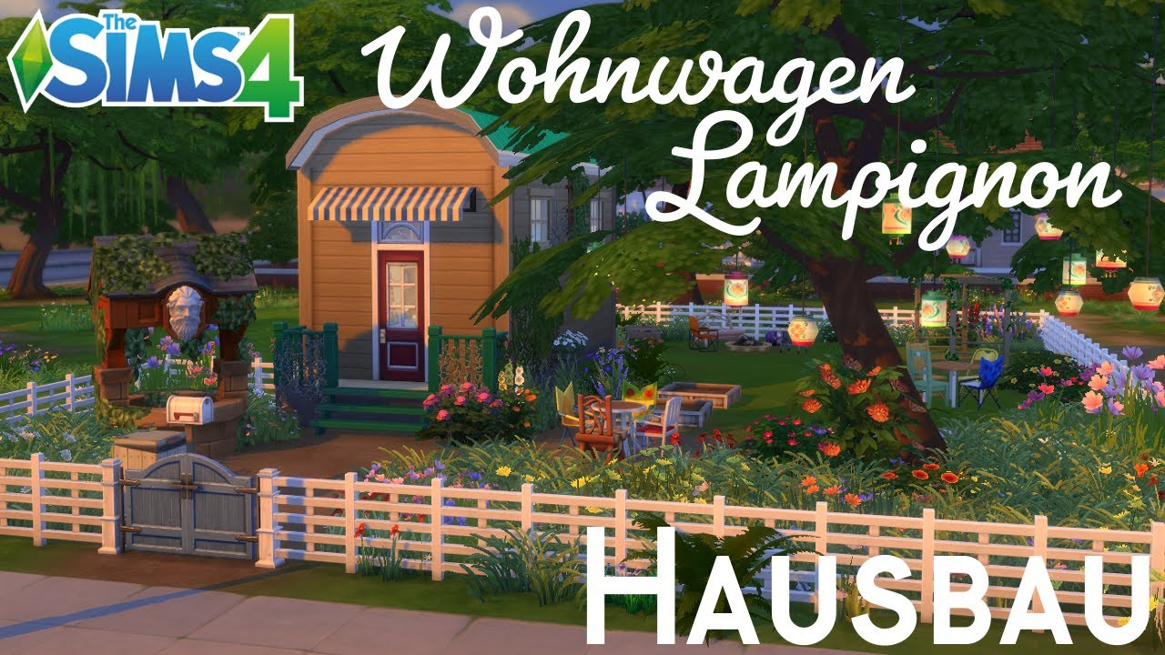 sims 4 hausbau wohnwagen lampignon youtube. Black Bedroom Furniture Sets. Home Design Ideas