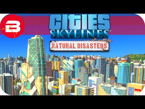 Cities Skylines Natural Disasters Gameplay - BIFFACARE HEALTH SERVICE (Hard Scenario) #22