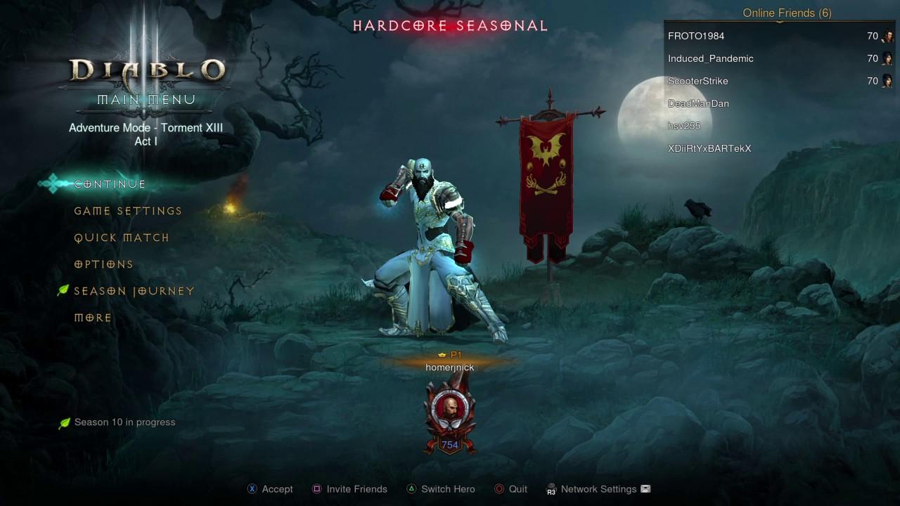 Diablo 3 SEASONS - Exploit Found on Consoles! - YouTube